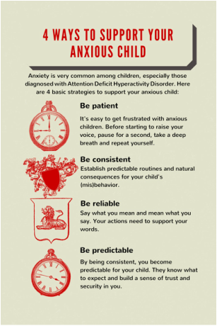 4 ways to support an anxious child
